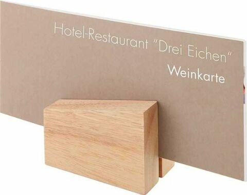Kartenhalter, 2er Set, 8,5x6 cm-Gastro-Germany