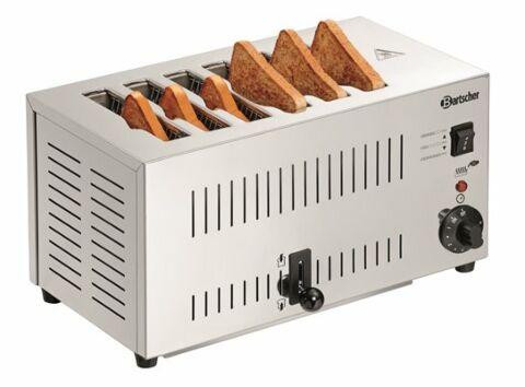 Bartscher 6 Scheiben Toaster, 2,5 kW-Gastro-Germany