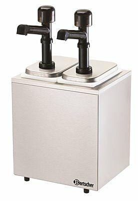 Pumpstation,2 Pumpen 2x3,3L-Gastro-Germany