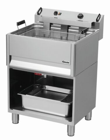 Bartscher Elektro Backwarenfritteuse BF 30E OU, 30 Liter-Gastro-Germany
