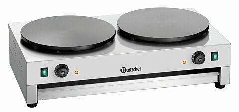 Bartscher Crêpe-Backgerät 2CP400, 6 kW-Gastro-Germany