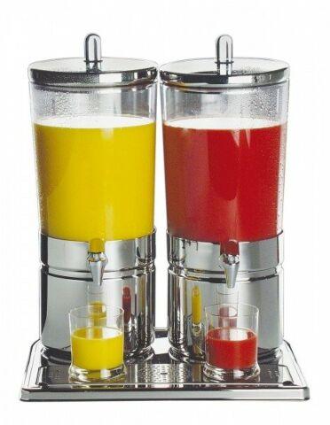 "Saftdispenser DUO ""TOP FRESH"", 2x 6 Liter-Gastro-Germany"