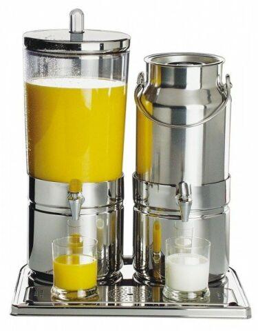 Saft- und Milchdispenser MIX TOP FRESH, 6+5 Liter-Gastro-Germany