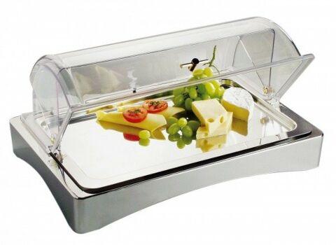 Kühl Box GN 1/1 -Top Fresh-, ca. 56,5 x 36 cm, Höhe 8,5 cm-Gastro-Germany