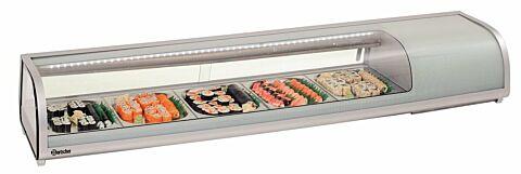Bartscher Kühlaufsatzvitrine Sushi Bar 5x1/2GN-Gastro-Germany