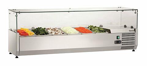 Kühlaufsatz, 1400x340x425 mm, für 6x GN 1/4-Gastro-Germany