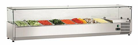 Bartscher Kühlaufsatzvitrine GL3 8 x 1/3 GN, 230 V -Gastro-Germany