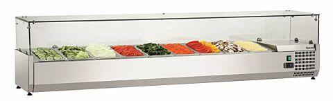 Bartscher Kühlaufsatzvitrine GL3 9 x 1/3 GN, 230 V -Gastro-Germany