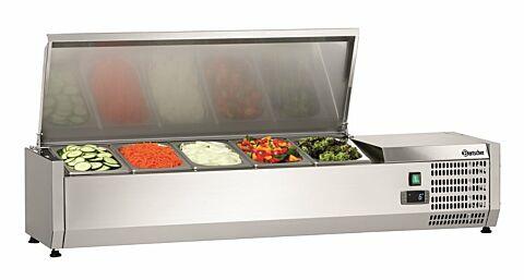 Bartscher Kühlaufsatzvitrine ED 5 x 1/4 GN, 230 V -Gastro-Germany
