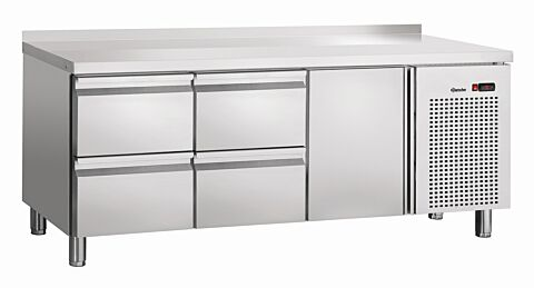 Bartscher Kühltisch S4T1-150 MA, 230 V -Gastro-Germany