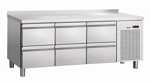 Bartscher Kühltisch S6-150 MA, 230 V -Gastro-Germany