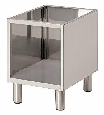 Bartscher Offener Unterbau für Tischgeräte Breite 400mm, Tiefe 650mm-Gastro-Germany