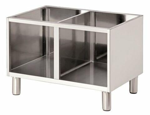 Bartscher Offener Unterbau für Tischgeräte Breite 800mm, Tiefe 650mm-Gastro-Germany