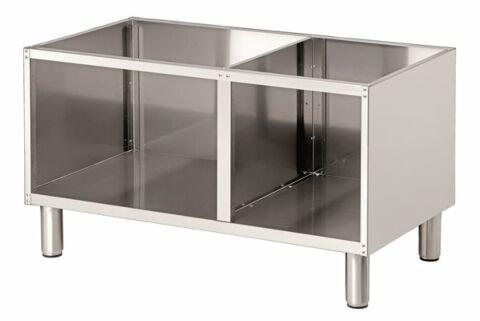 Bartscher Offener Unterbau für Tischgeräte Breite 1000mm, Tiefe 650mm-Gastro-Germany