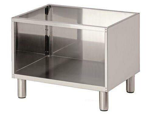 Bartscher Offener Unterbau für Tischgeräte Breite 700mm, Tiefe 650mm-Gastro-Germany