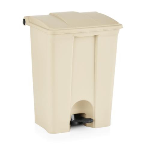 Tretabfallbehälter, herausnehmbarer Einsatz, 68 ltr., 50,5 x 41 x 67 cm, Polypropylen-Gastro-Germany