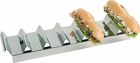 Snackablage Snackpresenter mit 7 Fächern, Länge 47,5 cm-Gastro-Germany