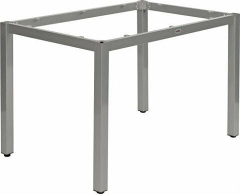 Tischuntergestell LINA für 120x80 cm Platten, silbergrau-Gastro-Germany