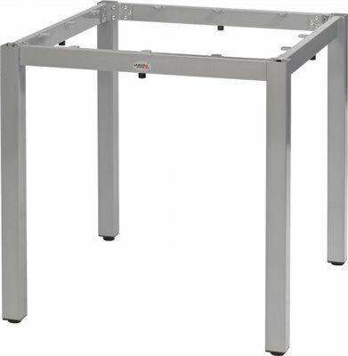 Tischuntergestell LINA für 80x80 cm Platten, silbergrau-Gastro-Germany