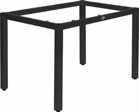 Tischuntergestell LINA für 80x80 cm Platten, schwarz-Gastro-Germany