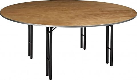 Tisch Eco rund ø 122 cm 19 mm stark Multiplex-Gastro-Germany