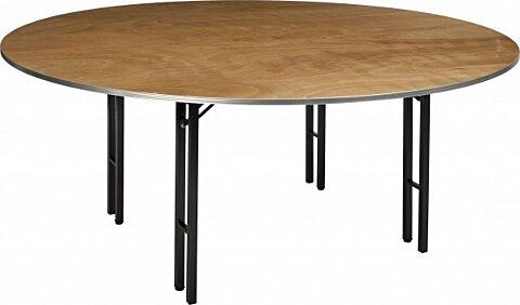 Tisch Eco rund ø 183 cm 19 mm stark Multiplex-Gastro-Germany