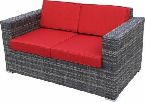 Marta Lounge-Sofa rocca, 2-Sitzer-Gastro-Germany