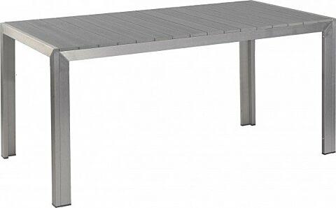 Terassen Tisch Torino grau, 160x80x74 cm-Gastro-Germany