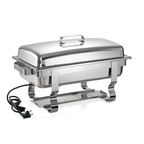 Elektro Chafing Dish GN 1/1, 61 x 36 x 35 cm,Chromnickelstahl-Gastro-Germany