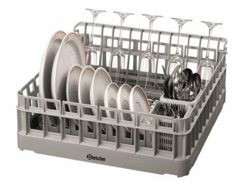 Bartscher 4tlg. Spülkorb-Set für Teller, Gläser, Besteck-Gastro-Germany