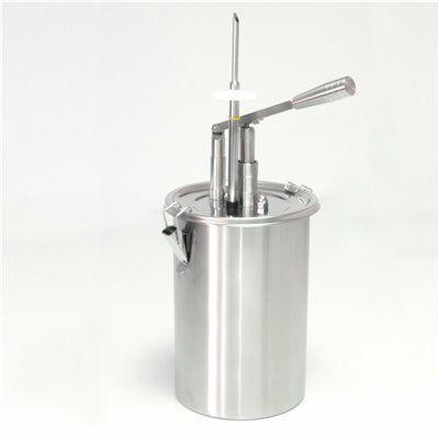Gebäckfüller / Dosierspender 5 Liter für Gastronomie mit Hebelbedienung von Schneider-Gastro-Germany