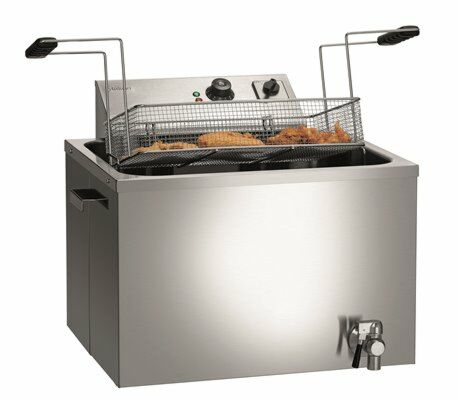 Bartscher Elektro Fritteuse GRANDE 50L, 50 Liter, 400 V -Gastro-Germany
