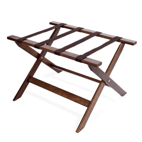 Gepäckablage, 67 x 45,5 x 41,5 cm, Holz/Nylon-Gastro-Germany