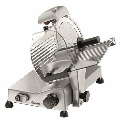 Bartscher Aufschnittmaschine 220 Plus, Messer Ø 220 mm, 230V-Gastro-Germany