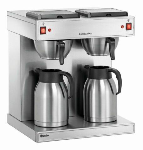 """Bartscher Kaffeemaschine """"Contessa Duo"""", 3,2kW-Gastro-Germany"""