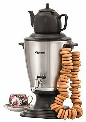 Bartscher Samowar Teemaschine 3,2 Liter-Gastro-Germany