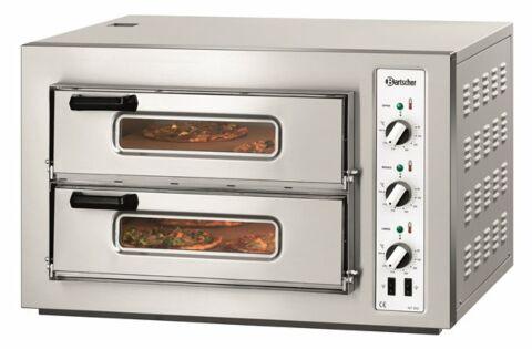 Bartscher Pizzaofen NT 502 T, 500x500 für 2x 4 Pizzen Ø 25 cm-Gastro-Germany