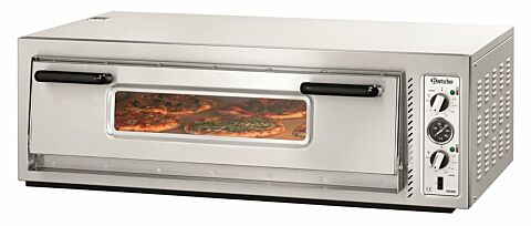 Bartscher Pizzaofen NT 901, 920x620mm für 6 Pizzen Ø 30 cm-Gastro-Germany