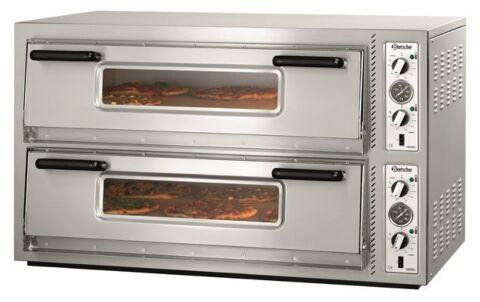 Bartscher Pizzaofen NT 921 T,920x620mm für 2x 6 Pizzen Ø 30 cm-Gastro-Germany