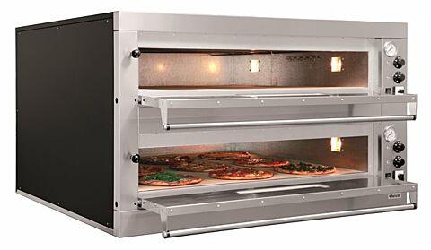 Bartscher Pizzaofen ET 205, 1050x1050 für 2x 9 Pizzen Ø 33 cm-Gastro-Germany