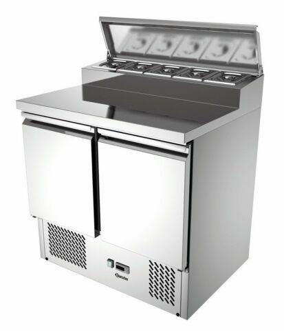 Bartscher Vorbereitungskühltisch, 900x690x1000 mm-Gastro-Germany