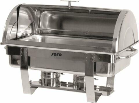 SARO Chafing Dish mit Rolldeckel 1/1 GN DENNIS-Gastro-Germany