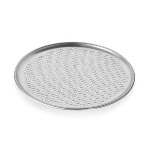 Pizzablech, Ø 33 cm, Perforierung Ø 6,5 mm, Aluminium-Gastro-Germany