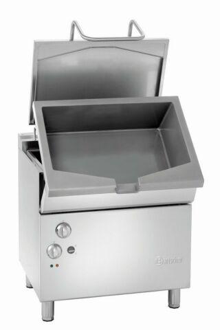 Bartscher Kippbratpfanne, el. Kipp., 50 L, 10,25 kW, 800x700x850-900 mm-Gastro-Germany