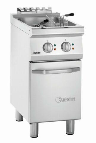Bartscher Elektro-Fritteuse 2x 9 Liter, Breite 400mm, Tiefe 700mm, 15 kW, 400V-Gastro-Germany