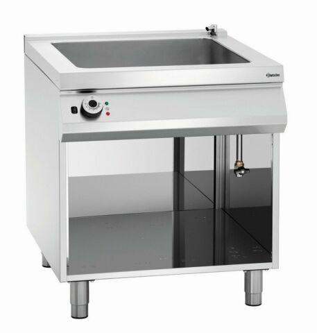 Bartscher Elektro Wasserbad, 2 x 1/1 GN + 2 x 1/3 GN, 800x900x900-950 mm-Gastro-Germany