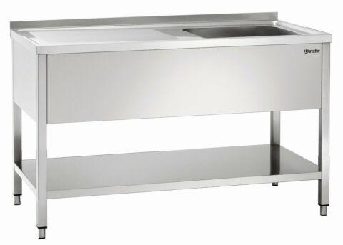 Spüle 700, B1400, Becken RE,1400x700x850 mm-Gastro-Germany