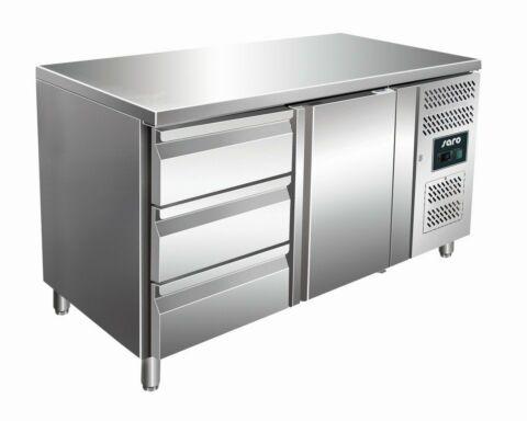 SARO Kühltisch inkl. 3er Schubladenset KYLJA 2130 TN-Gastro-Germany