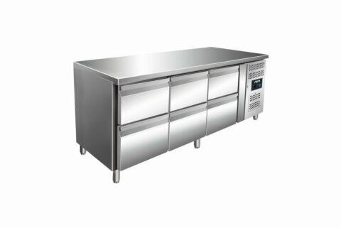 SARO Kühltisch inkl. 3 x 2er Schubladenset KYLJA 3160 TN-Gastro-Germany