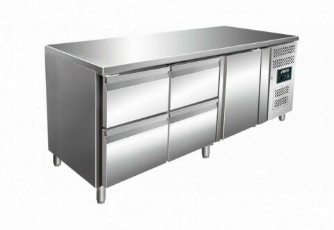 SARO Kühltisch inkl. 2 x 2er Schubladenset KYLJA 3140 TN-Gastro-Germany